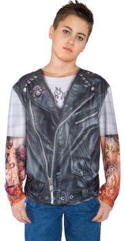 Biker Shirt - Child M (6 - 8)