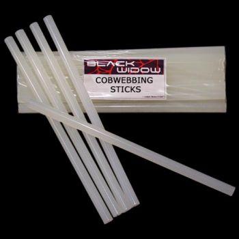 Black Widow Cobwebbing Sticks - Standard