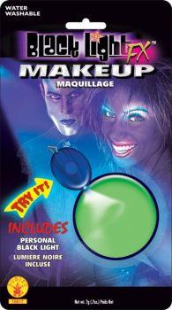 Blacklight Makeup Green Glow
