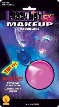 Blacklight Glow Makeup - Pink Glow