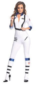 Women's Blast Off Astronaut Costume - Adult Medium