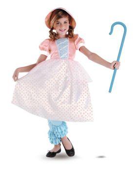 Girl's Bo Peep Costume - Toy Story - Child M (7 - 8)