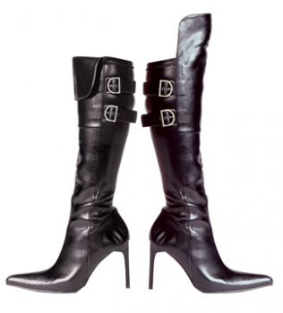 Women's Bach Pointy-Toe Pirate Boot - Black - Women's Shoe 8