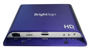 brightsign media player