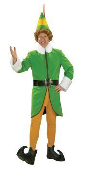 Men's Deluxe Buddy The Elf Costume - Adult Medium