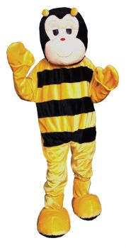 Bumble Bee Mascot Adult One Sz