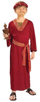 Burgundy Wiseman - Child L (12 - 14)