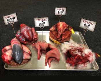 Animal Prop Butcher Shop Set