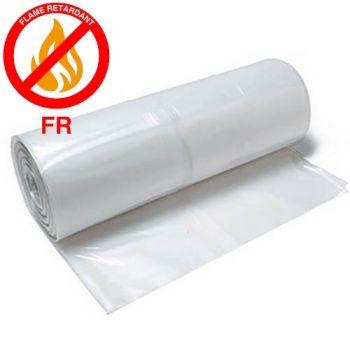 4 mil White Fire Retardant Plastic