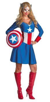Capt America Miss Classic Lg