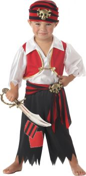 Ahoy Matey! Toddler Costume - Toddler (3 - 4T)