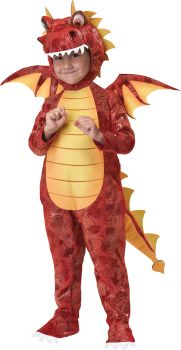 Fire Breathing Dragon Toddler Costume - Child XS (4 - 6)