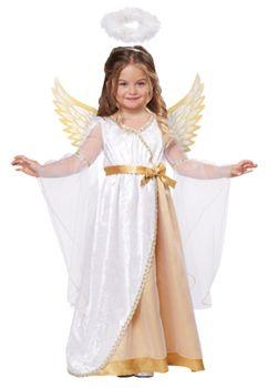 Girl's Sweet Little Angel Toddler Costume - Child (4 - 6)