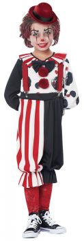 Kreepy Klown Kid Toddler Costume - Toddler (3 - 4T)