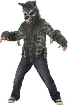 Boy's Howling At The Moon Costume - Child M (8 - 10)