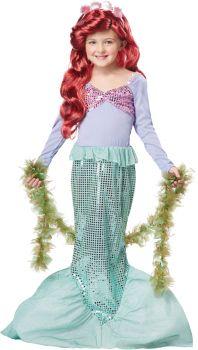 Girl's Little Mermaid Costume - Child XS (4 - 6)
