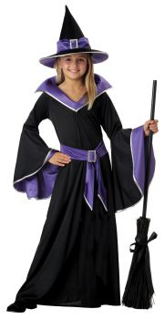 Girl's Incantasia, The Glamour Witch Costume - Child S (6 - 8)