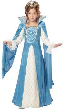 Girl's Renaissance Queen Costume - Child S (6 - 8)