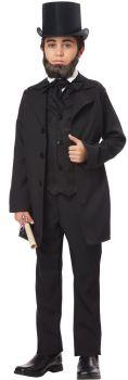 Boy's Abraham Lincoln Costume - Child M (8 - 10)