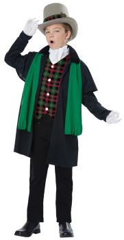 Holiday Boy Caroler Large