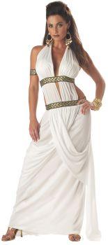 Women's Spartan Queen Costume - Adult S (6 - 8)