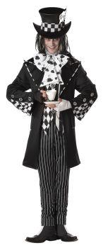 Men's Dark Mad Hatter Costume - Adult XL (44 - 46)