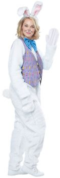 Adult Easter Bunny Costume - Adult S/M (38 - 42)