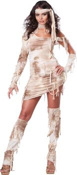 Women's Mystical Mummy Costume - Adult XS (4 - 6)