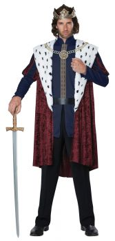Men's Royal Storybook King Costume - Adult S/M (38 - 42)