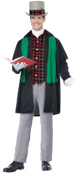 Men's Holiday Caroler Costume