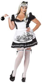 Women's Plus Size Dark Alice Costume - Adult 3X (20 - 22)
