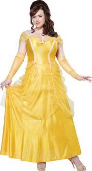 Women's Plus Size Classic Beauty Costume - Adult 2X (18 - 20)
