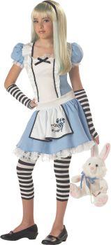 Girl's Alice Costume - Child XL (12 - 14)