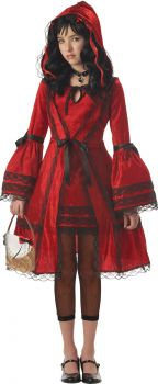 Girl's Red Riding Hood Costume - Child XL (12 - 14)
