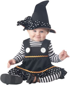 Crafty Lil Witch Baby Costume - Toddler (12 - 18M)