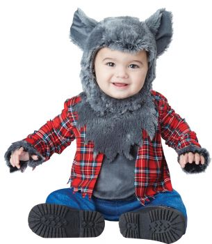 Wittle Werewolf Costume - Toddler (18 - 24M)