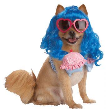 Cupcake Girl Dog Costume - Pet Medium