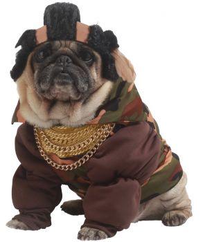 Pity The Bull Dog Costume - Pet Xsmall