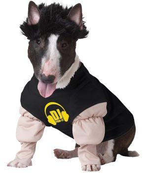 DJ Master Dog Costume - Pet Large