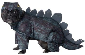 Stegosaurus Dog Costume - Pet Medium