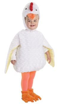 Chicken Costume - Toddler Large (2 - 4T)