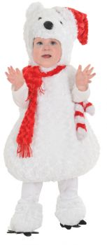 Christmas Polar Bear - Toddler Large (2 - 4T)