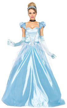 Women's Cinderella Classic Costume - Adult Large