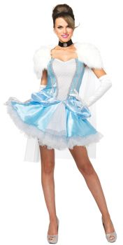 Women's Cinderella Slipperless Costume - Adult Large