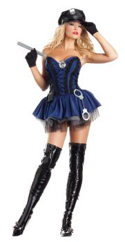 Women's Sexy Stunning Sergeant Costume - Adult M/L (8 - 12)