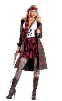 Sexy Provocative Pirate Costume - Adult XL (14 - 16)