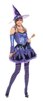 Women's Gypsy Witch Costume - Adult M/L (8 - 12)