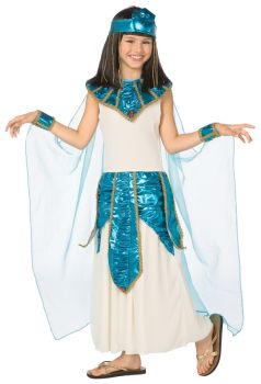 Cleopatra Blue Gold - Child Large