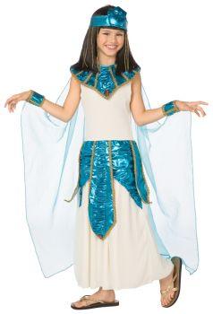 Cleopatra Blue Gold Chld 4-6