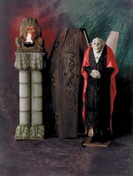 Coffin Dracula Upright